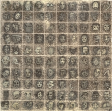 100 faces